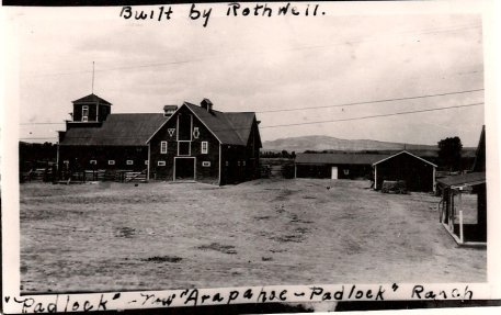 Padlock Ranch Barn.  The barn was built by Rothwell..JPG